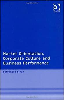 Market Orientation book by Dr. Singh